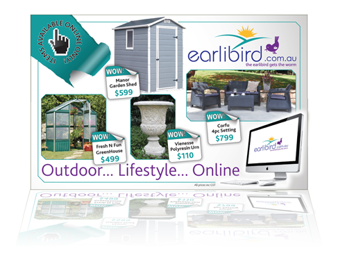 Earlibird Advert